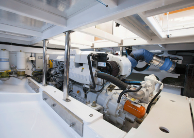 Bass Strait Motor Yacht Engine Room