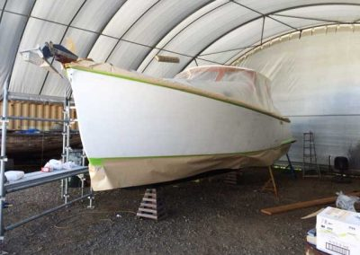 'Tiger' - Boat Repaint - before