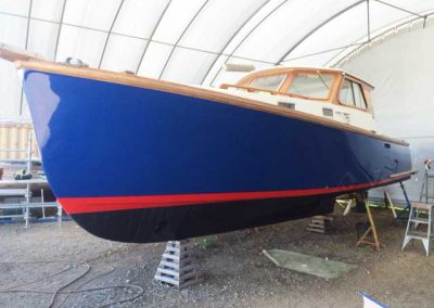 'Tiger' - Boat Repaint - completed