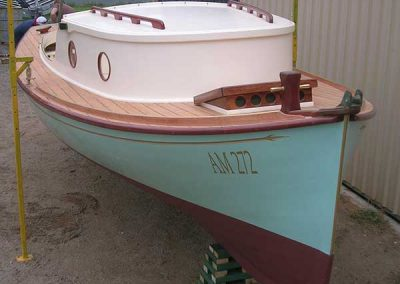 Corsair Boats Restoration - after