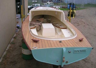 'Lochiel' Timber Boat Restoration - completed