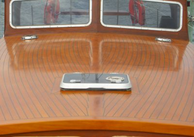 Boat Restoration - construction of steam bent deck completed