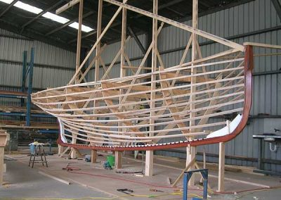 Wooden Boat Build