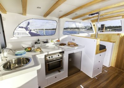 Bass Strait Motor Yacht Galley