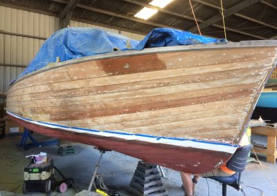 'B. Bommel' Classic Powerboat repaint - ready for undercoat