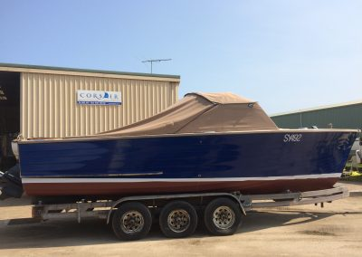 'B. Bommel' Classic Powerboat repaint - completed