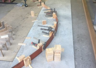 Timber Bending of laminated timbers