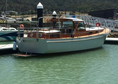 'Why Knot' Motor Sailor Total Restoration - awaiting mast and new sails - 3