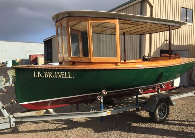 'IK Brunell' - Corsair Boats Restoration - Exterior